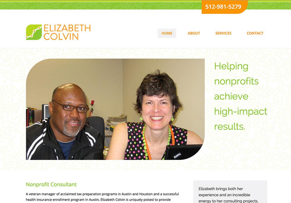 Elizabeth Colvin Website