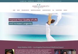 Angel Longevity Medical Center Website