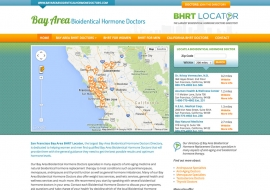 BHRT Locator Website
