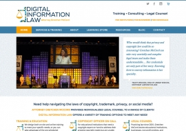 Digital Information Law Website