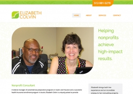 Elizabeth Colvin Website
