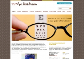 Eye Deal Vision Website