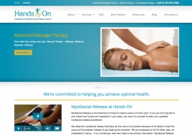 Hands On Physical Therapy Website