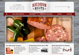 Hudson Meats Website