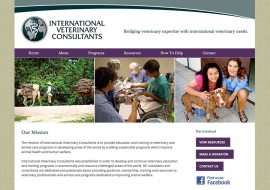 International Veterinary Consultants Website