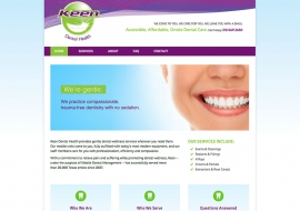Keen Dental Health Website