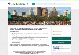 Liveable City Website
