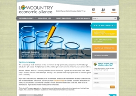 Lowcountry Economic Alliance Website
