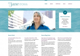 M. Jane Ross Website