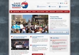 Save Texas Schools Website