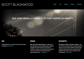 Scott Blackwood Website
