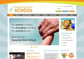 Stepping Stone School Website