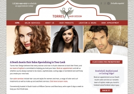 Torres Hair Design Website