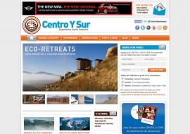 Centro Y Sur Website