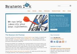 Branson Ink Website