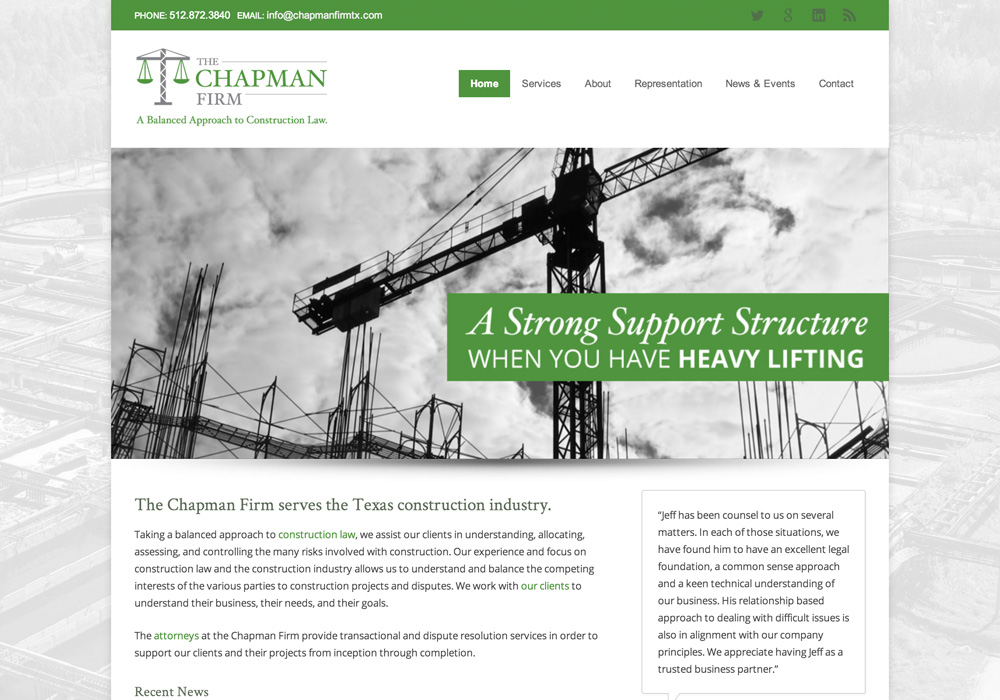 Chapman Firm Website