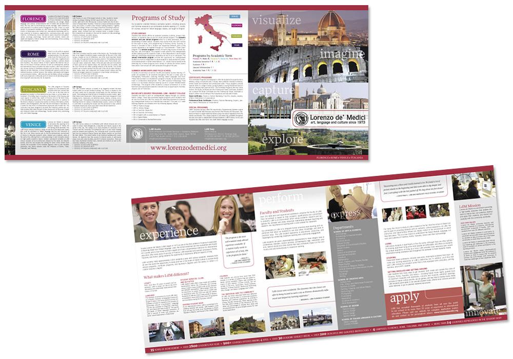 Lorenzo de' Medici Brochure
