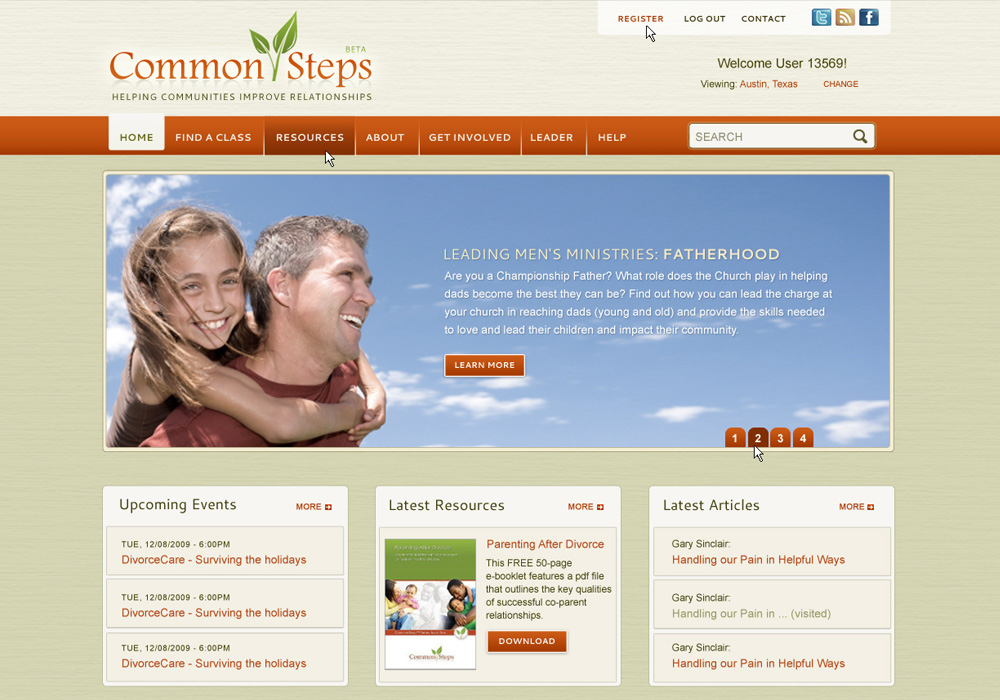 Common Steps Website