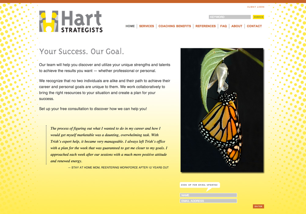 Hart Strategists Website