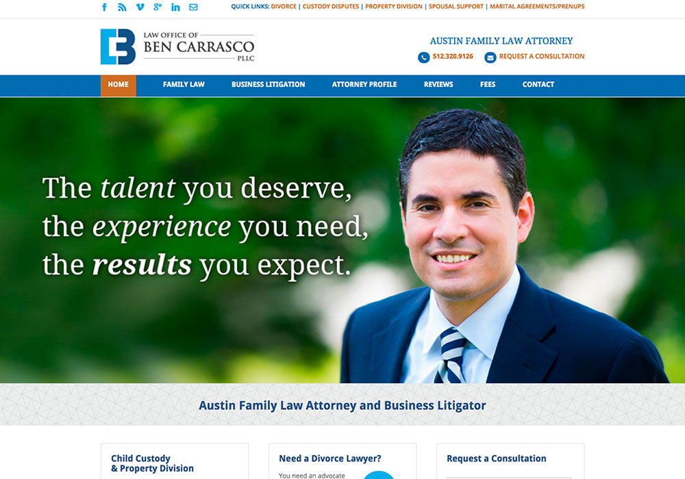 Ben Carrasco Website