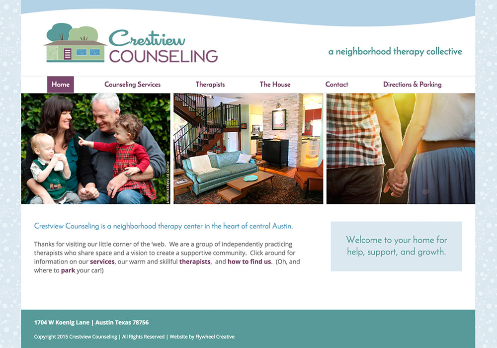 Crestview Counseling Website