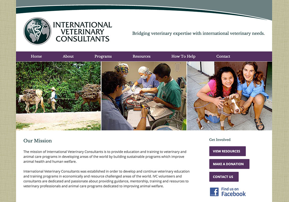 International Veterinary Consultants Website