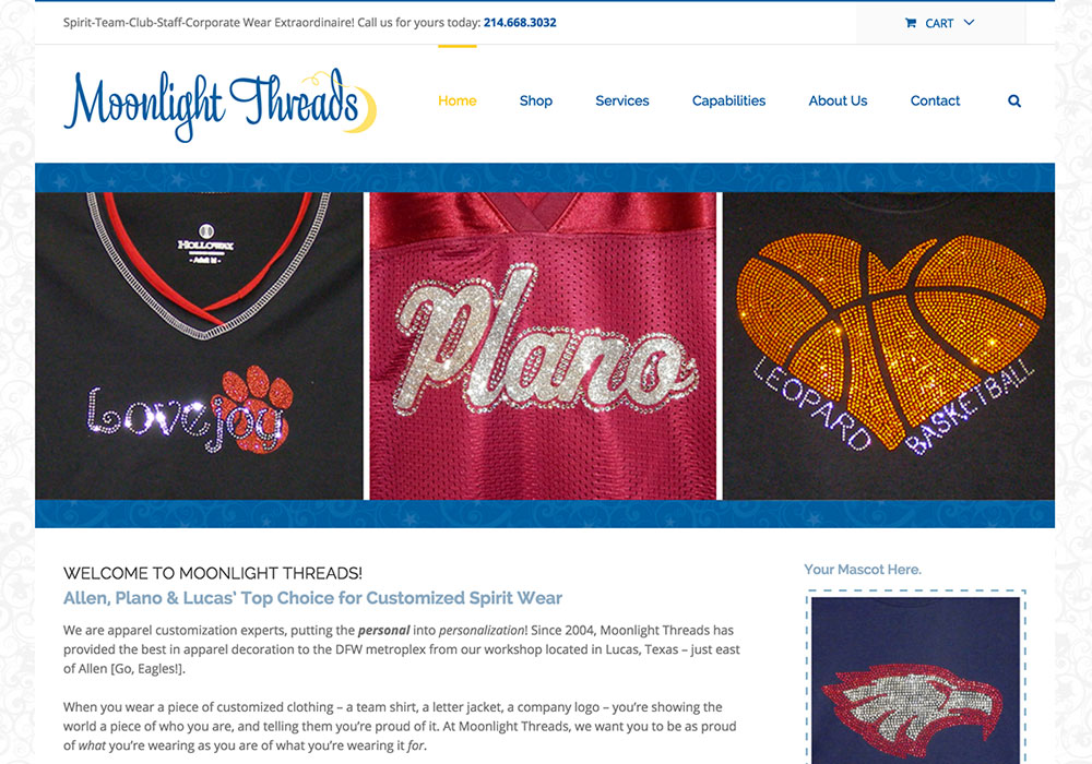 Moonlight Threads Website