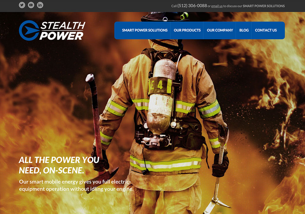 Stealth Power Website