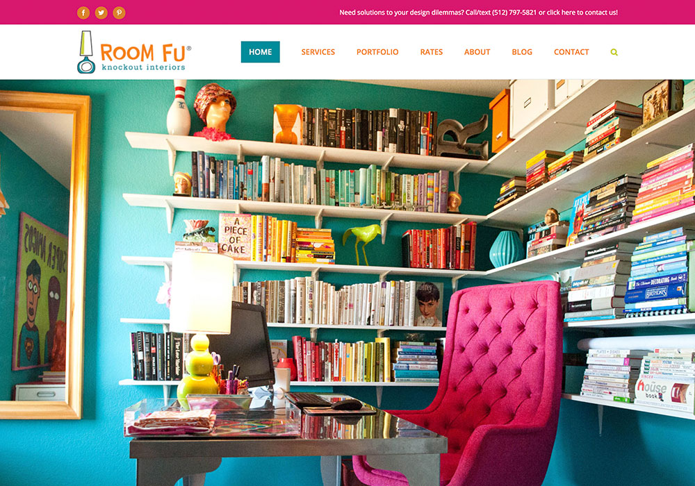 Room Fu Interior Design Website