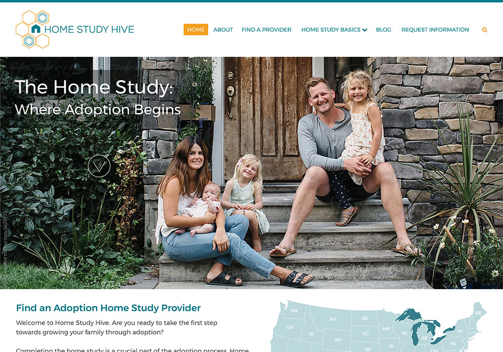 Home Study Hive website